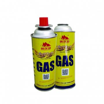 400ml 227g portable camping 220g Portable Butne Gas Can