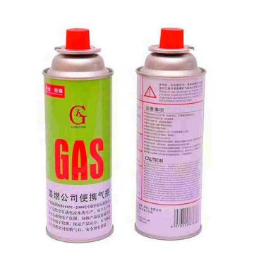 Round Shape Portable butane gas Camping butane gas cartridge for portable gas stove with filled butane gas 400ml 227g
