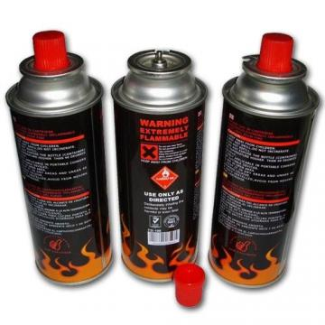 Cylinder for camping stove 190g Pierceable Gas Canister