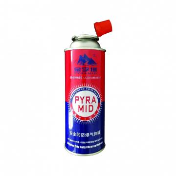 butane gas can for cassette stove and empty butane gas cartridge