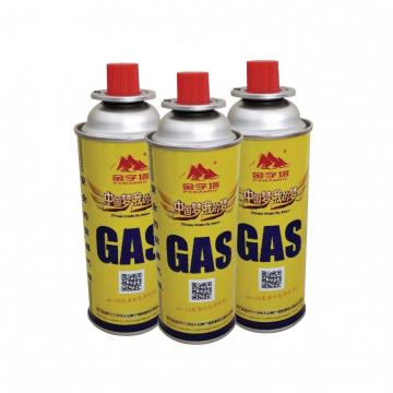 190g 220g 250g China butane gas canister 220g and boutielle gas butane portable