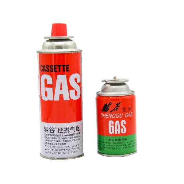 Popular international standard empty butane gas canister with ISO CE certificate