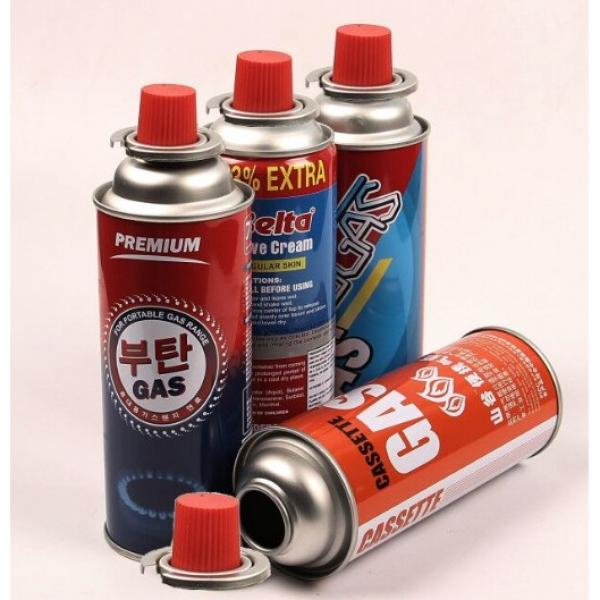 Butanel Fuel Canisters for Portable Camping Stoves
