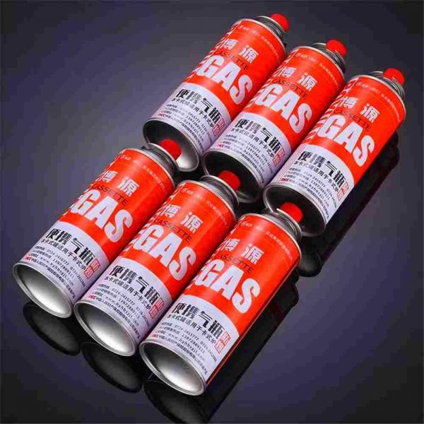 PORTABLE BUTANE CAN 220gr VALVE NOZLE TYPE and butane canister
