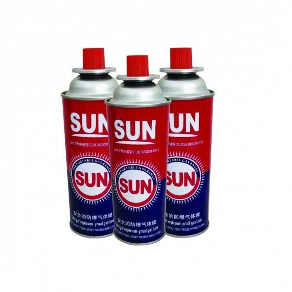 Heat Resistance CE certification butane can with can seaming machine