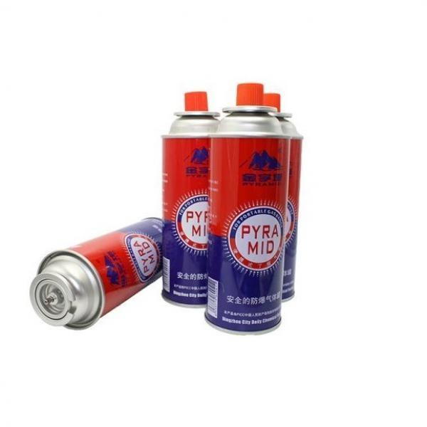 China butane refill gas cartridge 227g and camping gas butane canister refill 227g for portable stove